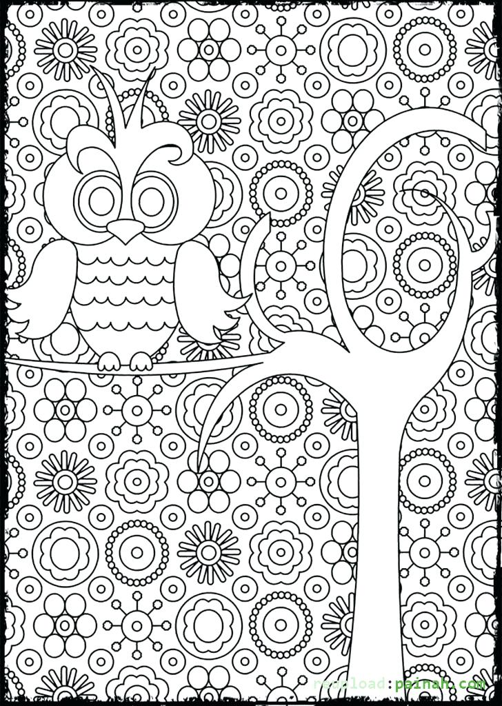 728x1024 Adults Halloween Coloring Pages