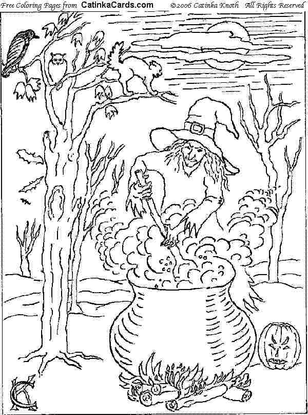 600x807 Advanced Halloween Coloring Pages Halloween Coloring Pages