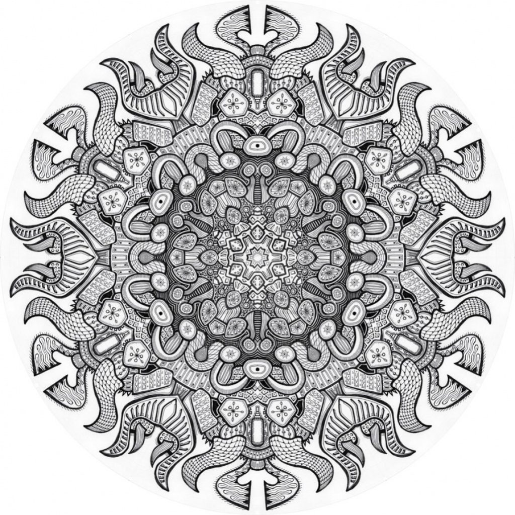 Advanced Mandala Coloring Pages For Adults
