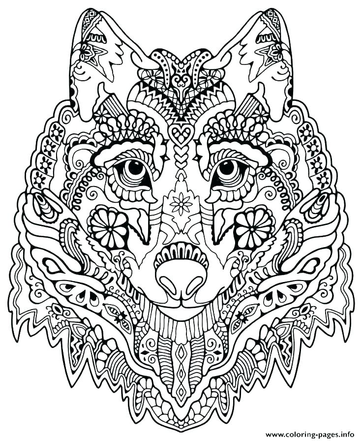 Advanced Mandala Coloring Pages Printable At Getdrawings Com