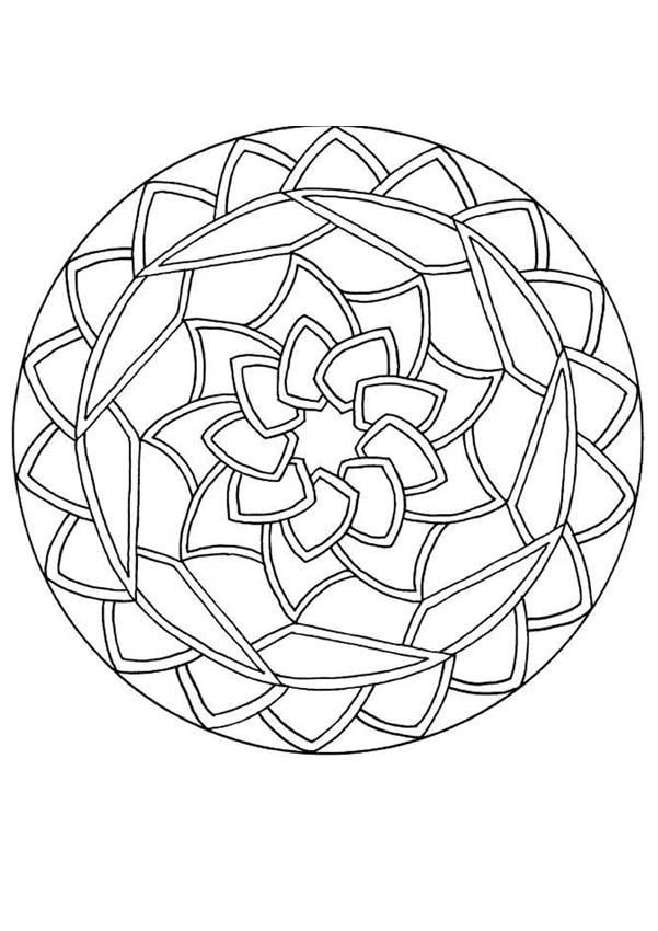 601x850 This Site Has A Ton Of Mandalas For Beginners, Advanced And Expert