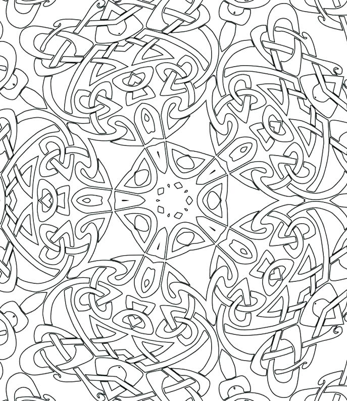 687x794 Advanced Online Coloring Pages