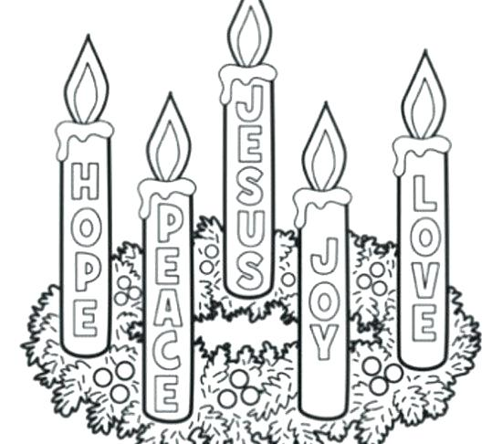 550x486 Catholic Advent Coloring Pages Advent Coloring Pages Advent