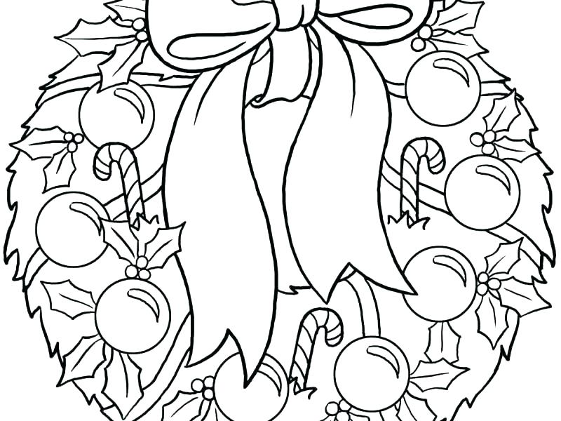 800x600 Advent Wreath Coloring Page Wreath Coloring Page Wreath Coloring
