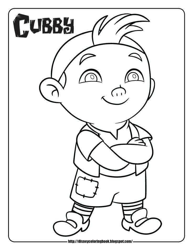 736x952 Jake Coloring Page Peter Pan And The Pirates Colouring Pages Jake