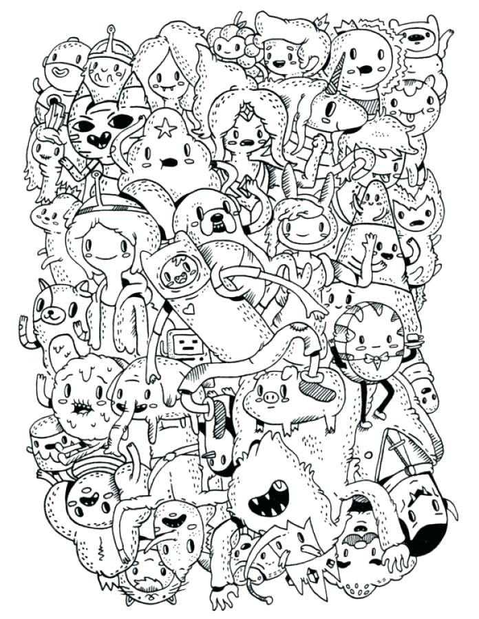Adventure Time Printable Coloring Pages At Getdrawings Com Free