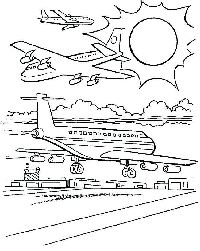 652x817 Airplane Coloring Pages Jet Airplane Coloring Pages Airplane