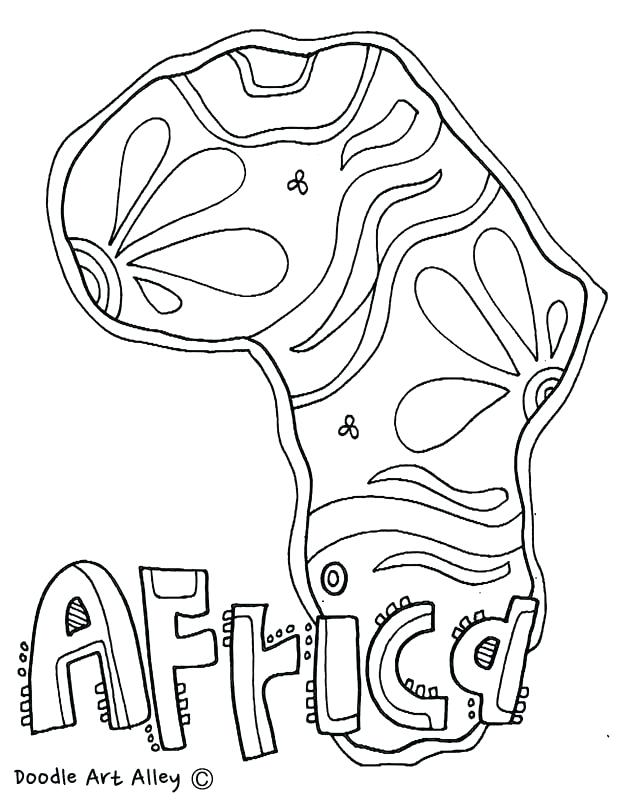 618x800 Africa Coloring Pages Africa Coloring Pages Coloring Page South