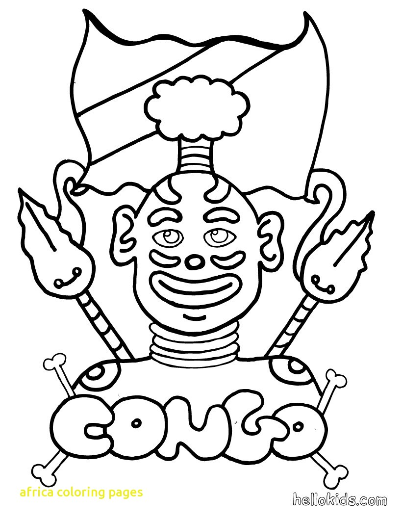 820x1060 Africa Coloring Pages With Africa Coloring Pages Coloring Pages
