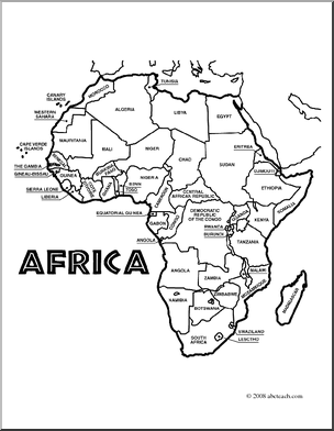 304x392 Coloring Page Of Map Of Africa Coloring Pages