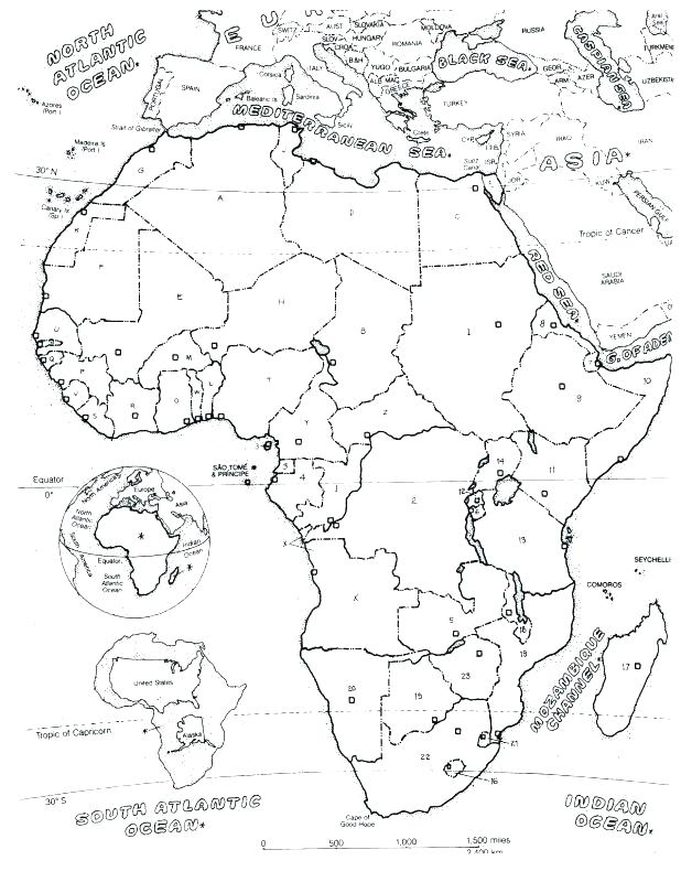 Map Of Africa Coloring Page.The Best Free Africa Coloring Page Images Download From 50 Free