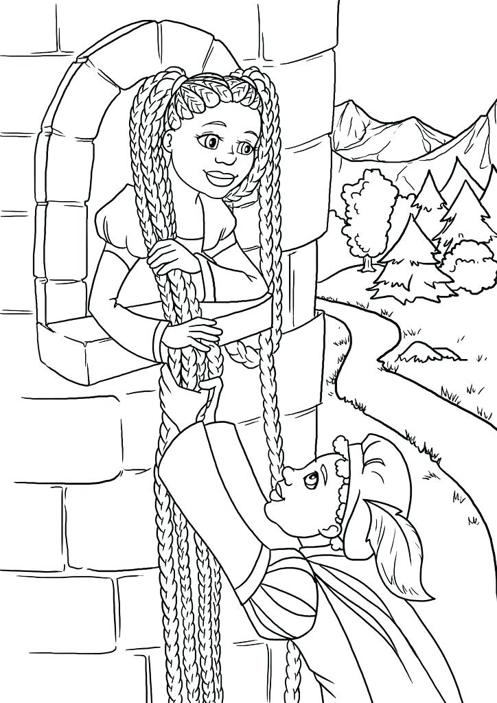 724x1024 African American Coloring Pages Black Fairy Tales Contest History