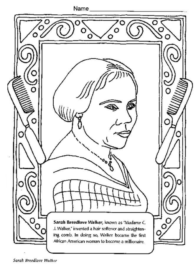 665x900 Free Printable Black History Month Coloring Pages