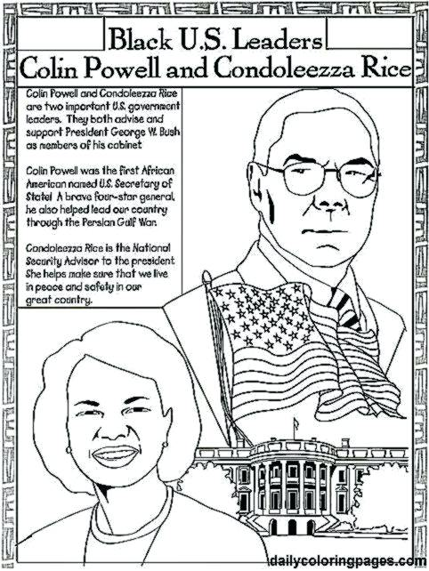 482x642 Simple Famous African American Coloring Pages Americans