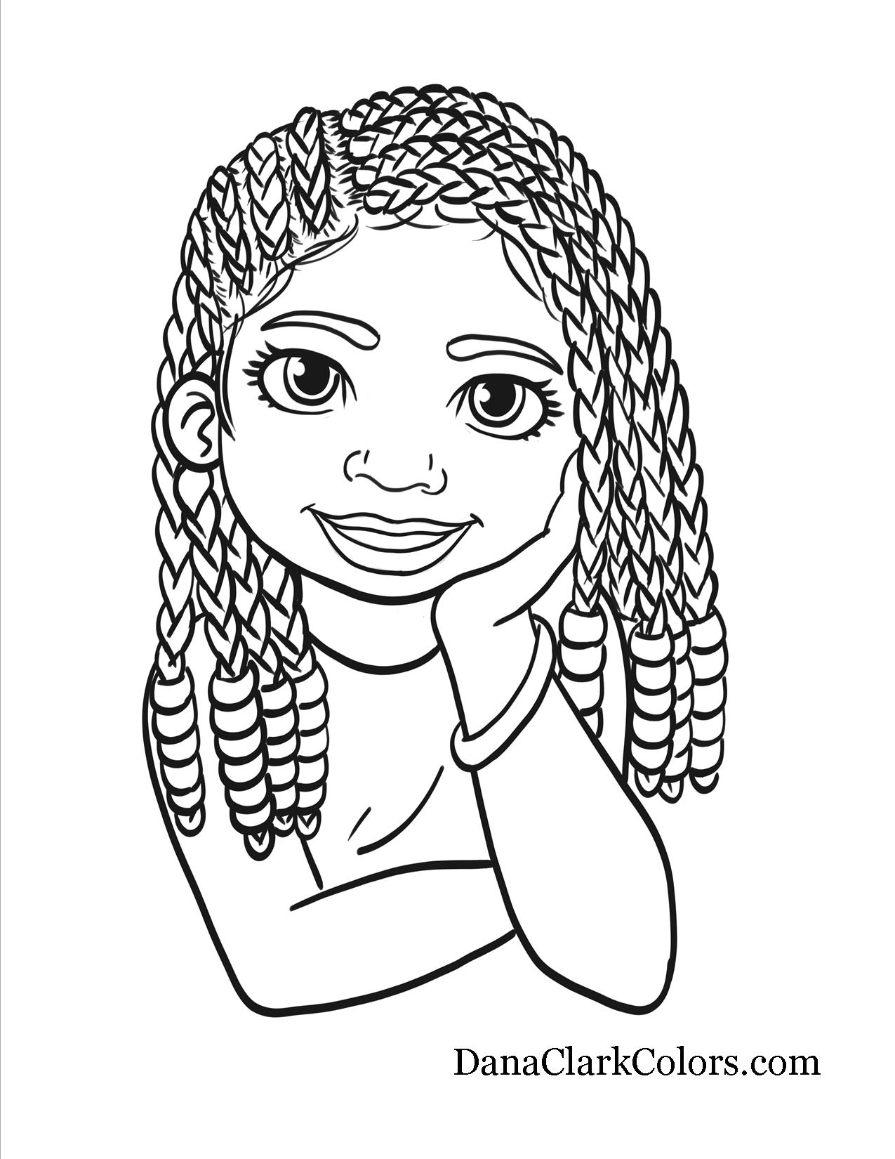 African American Woman Coloring Pages At Getdrawings Com Free For