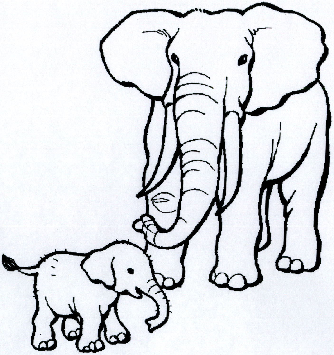 1406x1494 African Animals Coloring Pages Click On Each Image To Get