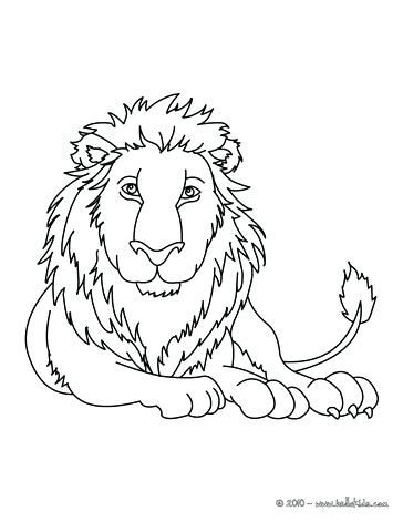 364x470 Idea Coloring Pages African Animals For Leopard Lion Coloring Page
