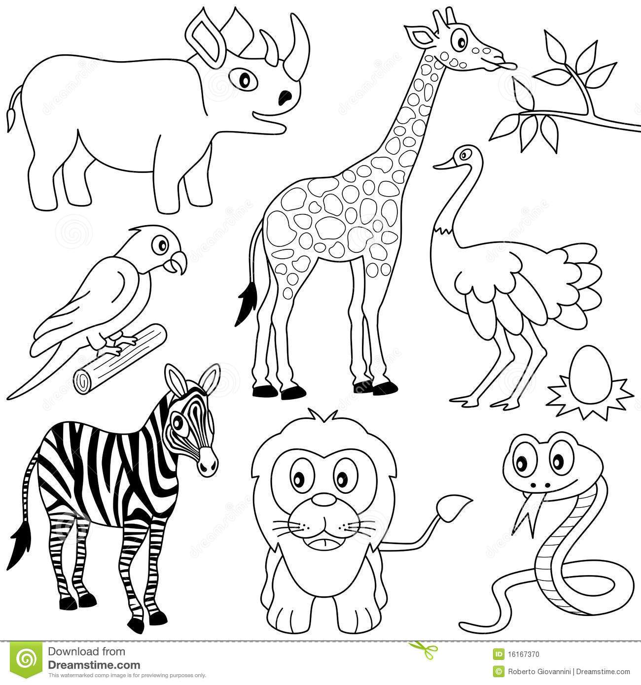 1300x1390 The Best African Animal Coloring Pages Pict Of Inspiration