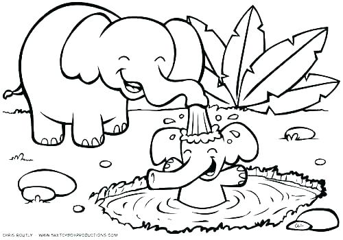 500x350 Animal Coloring Pages To Print
