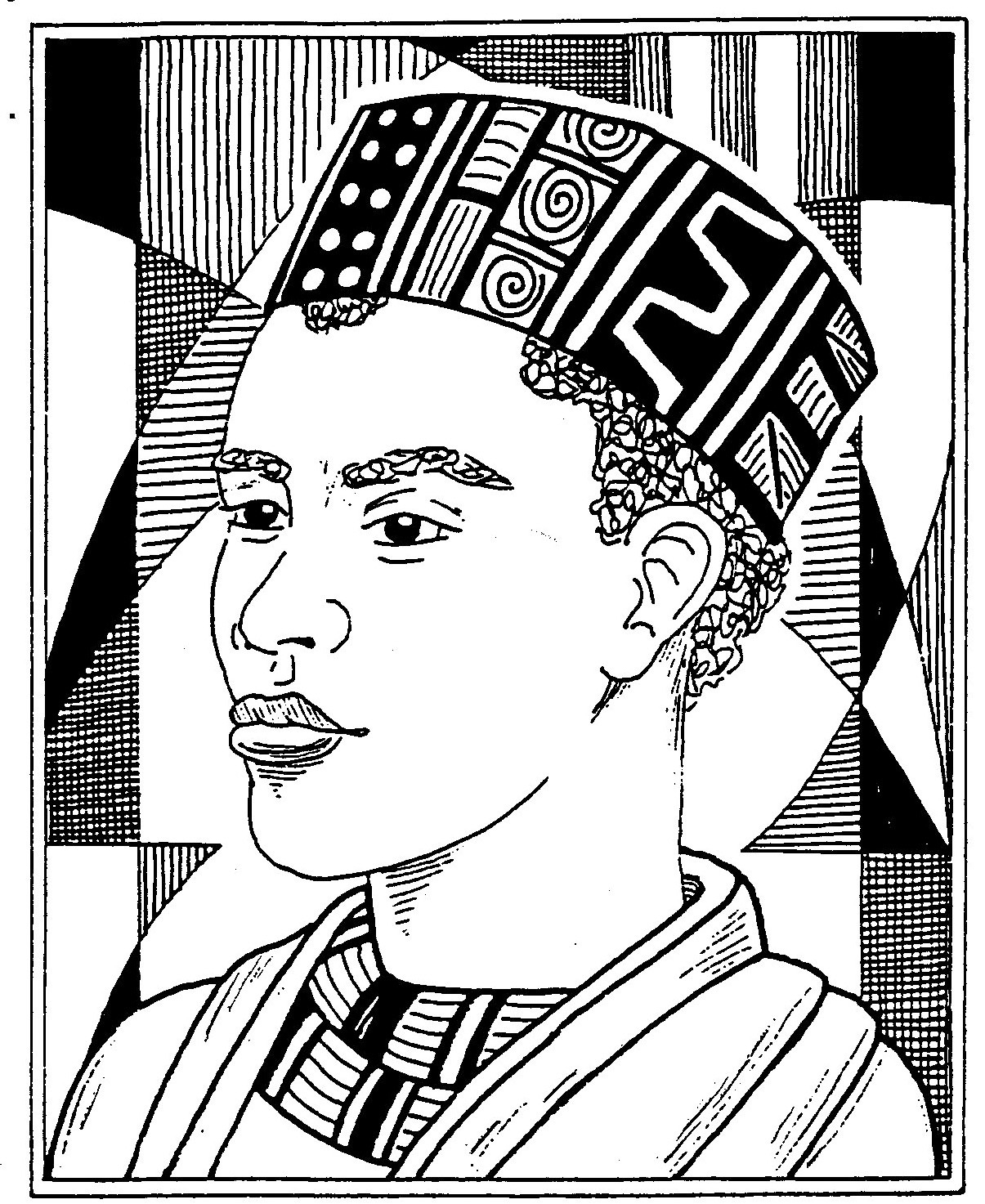 1205x1473 African Coloring Pages African American Coloring Pages African