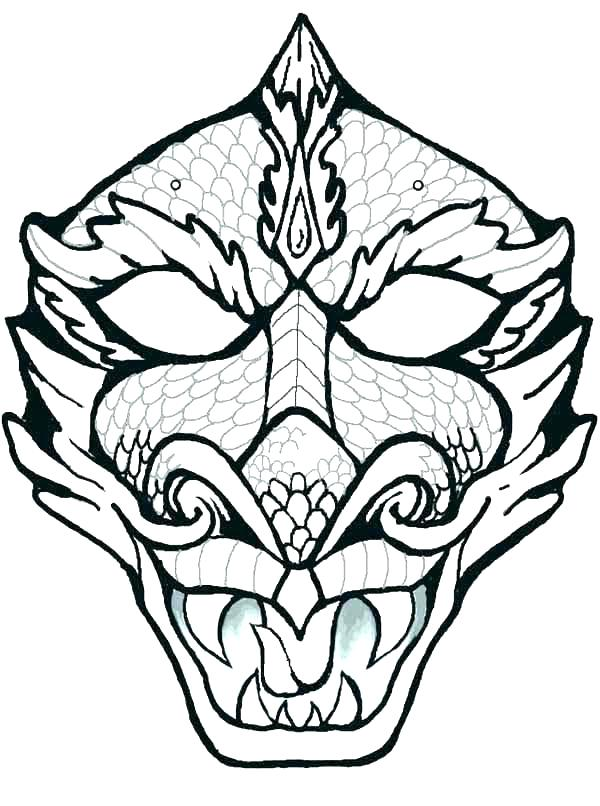 600x806 African Masks Coloring Pages Mask Coloring Page Free African Mask