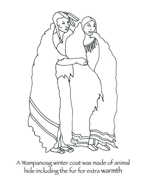 612x792 Amazing African Culture Coloring Pages For Pilgrim Winter Coats