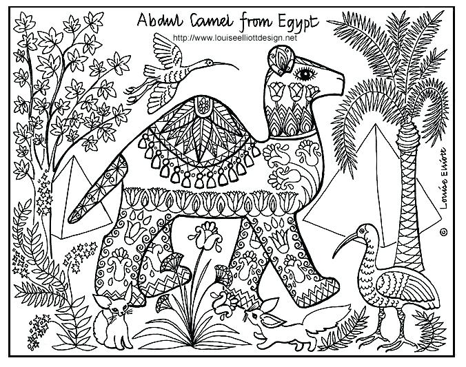 676x533 Inspirational African Culture Coloring Pages Or Ancient Colouring