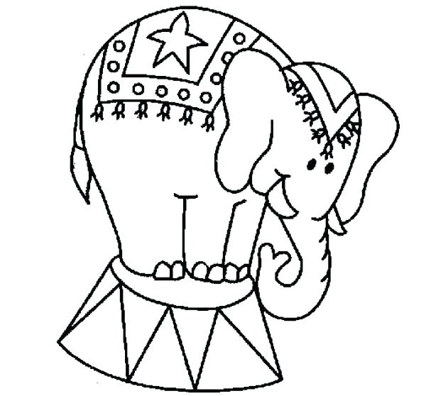 600x558 African Elephant Coloring Page Coloring Page Elephant Elephant
