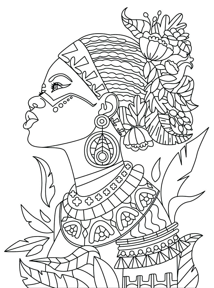 736x988 African Coloring Pages Coloring Pages Dragon Girl