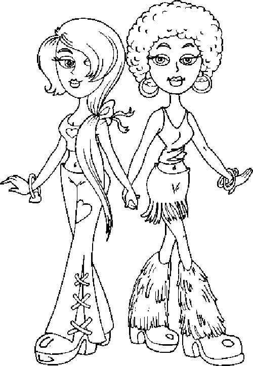 500x722 Sister Coloring Pages