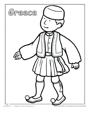 350x440 African American Culture Coloring Pages First Grade People