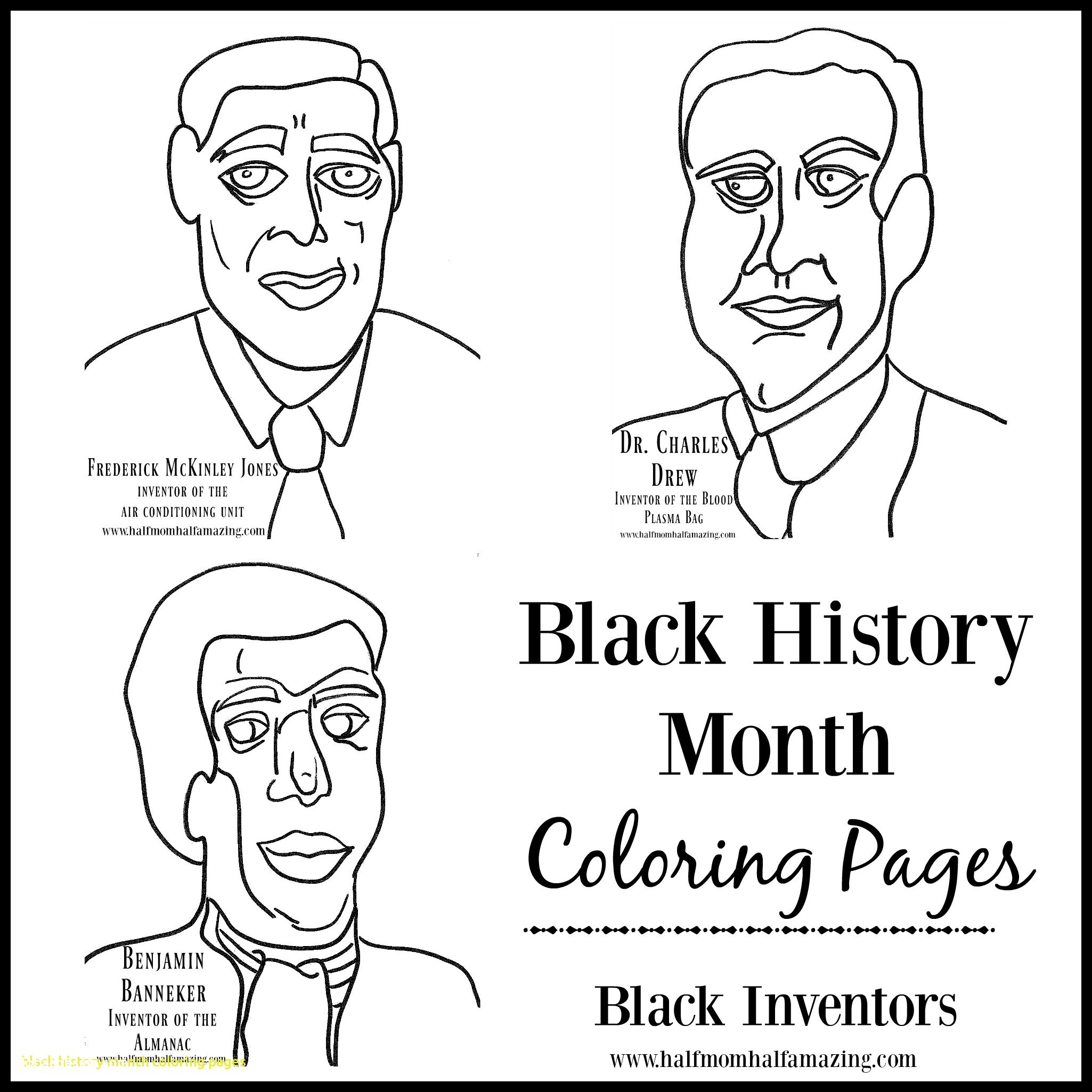 2050x2050 Awesome Famous African Americans Activity Sheets For Children