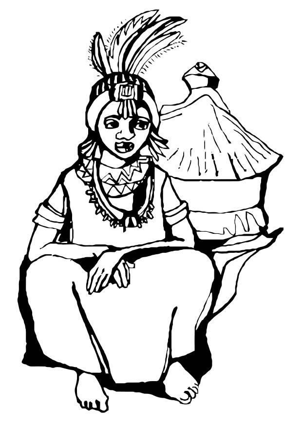 620x875 Coloring Page African Woman
