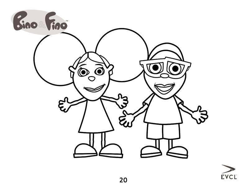792x612 Download Free Bino Ampamp Fino Colouring Pages Bino And Fino