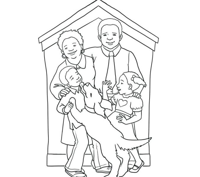 678x600 African American Bible Coloring Pages Coloring Page