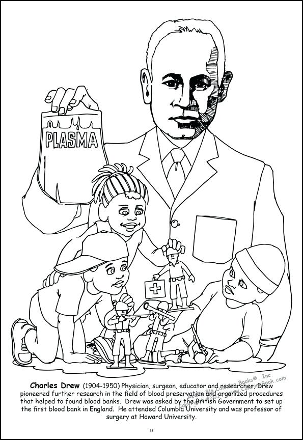 595x864 African American Coloring Books Coloring Pages Leaders Giant