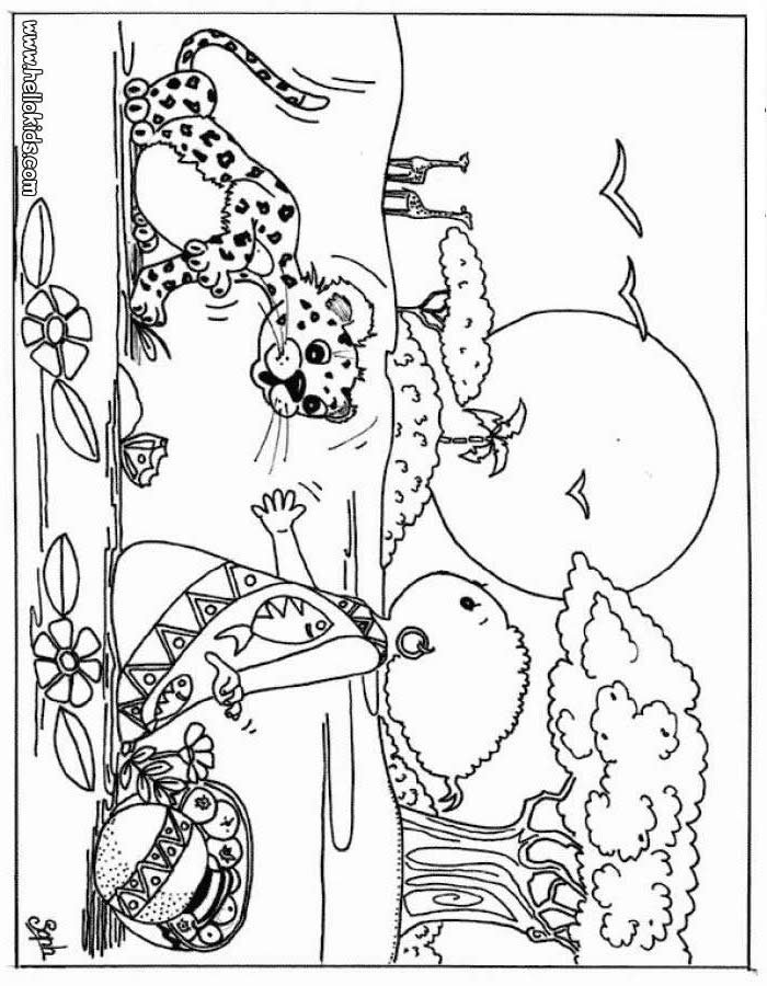700x900 Wild Animal Coloring Pages