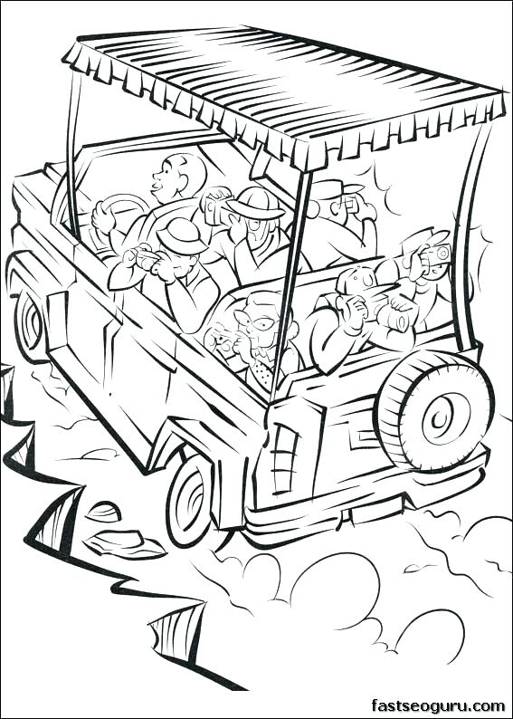 African Safari Coloring Pages at GetDrawings.com | Free for personal ...