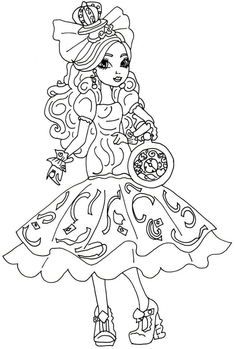 768x1134 Ever After High Coloring Pages Bunny Blanc New Fresh Free