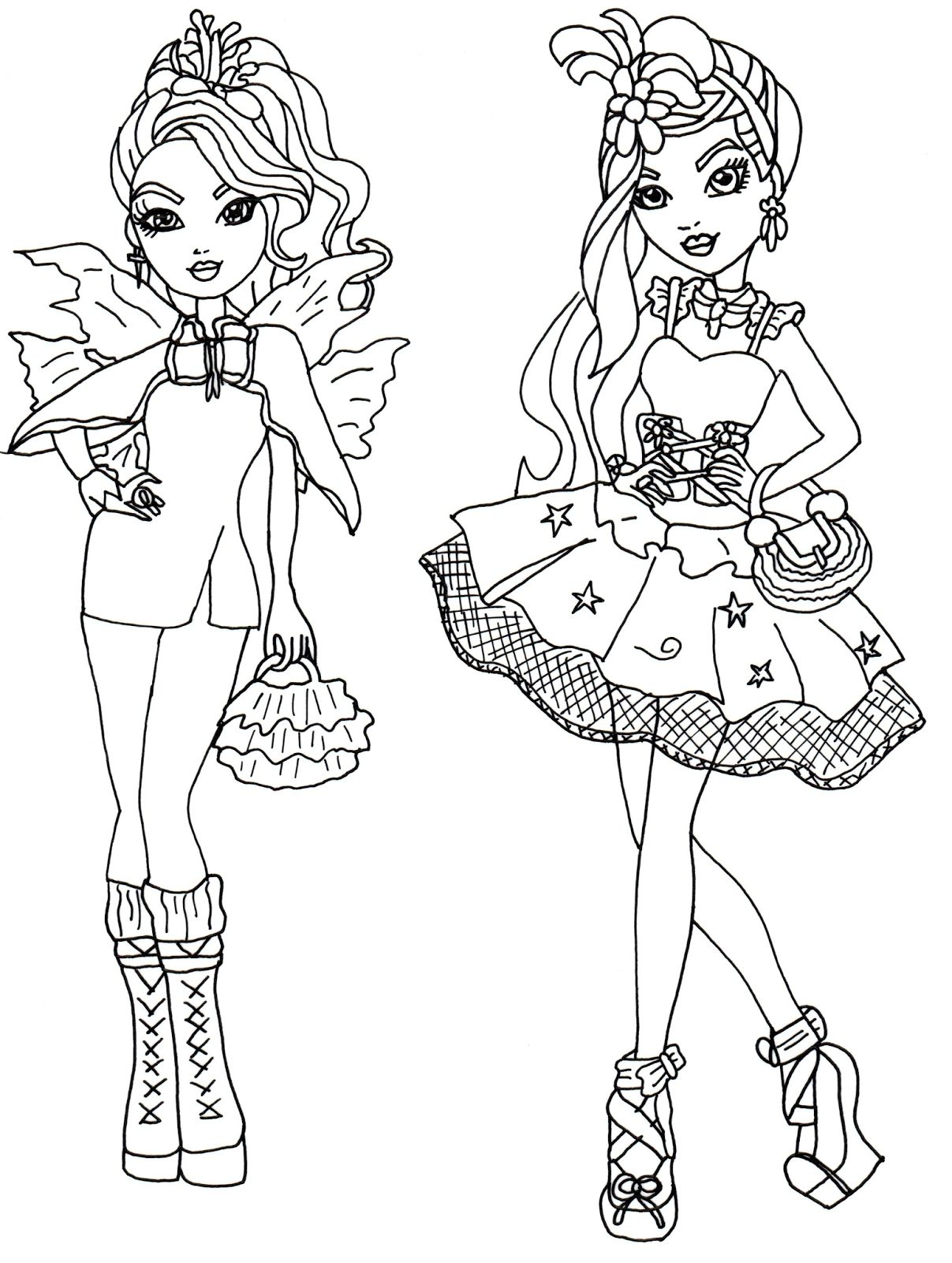 1207x1600 Ever After High Coloring Pages Getcoloringpages Download Of Ever
