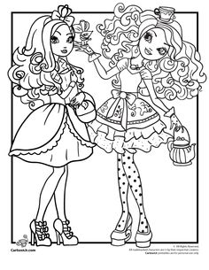 236x305 Free Printable Ever After High Coloring Pages Cedar Wood Ever