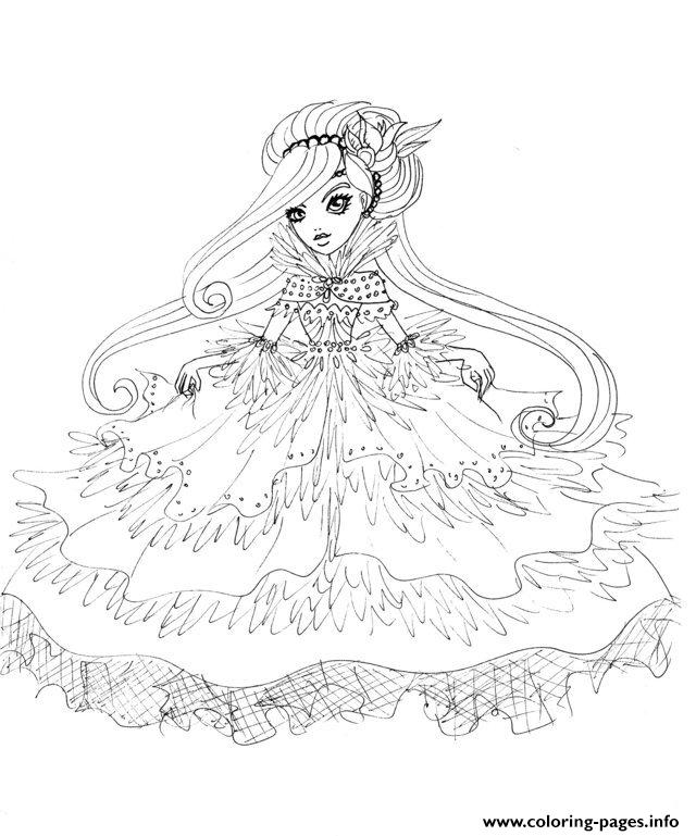 640x769 Ingenious Inspiration Ideas Ever After High Coloring Pages