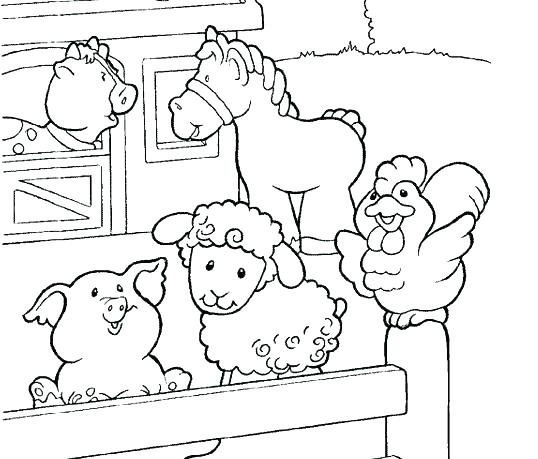 538x459 Farm Coloring Pages Coloring Page Farm Animals Farm Coloring
