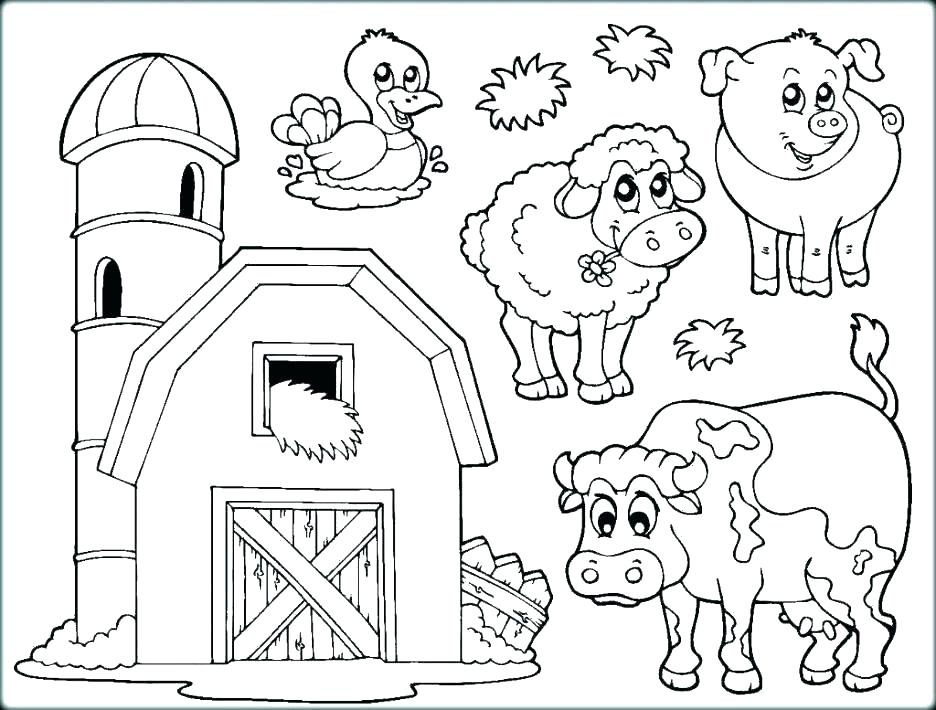 936x710 Farm Safety Colouring Sheet Farm Coloring Pages For Kids Farm