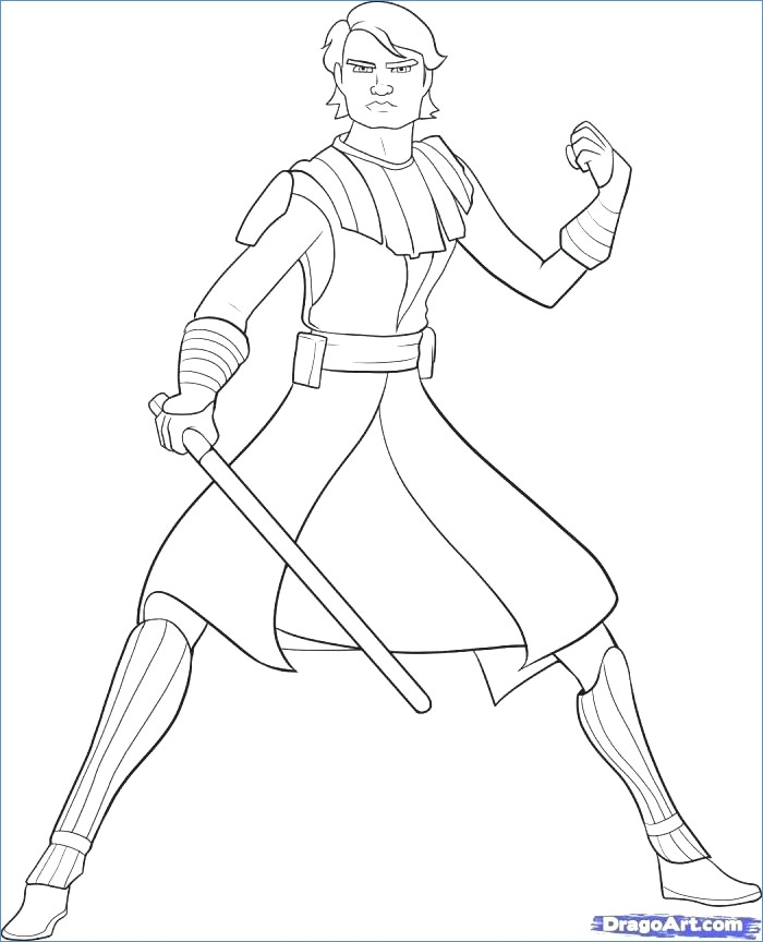 Ahsoka Tano Coloring Pages