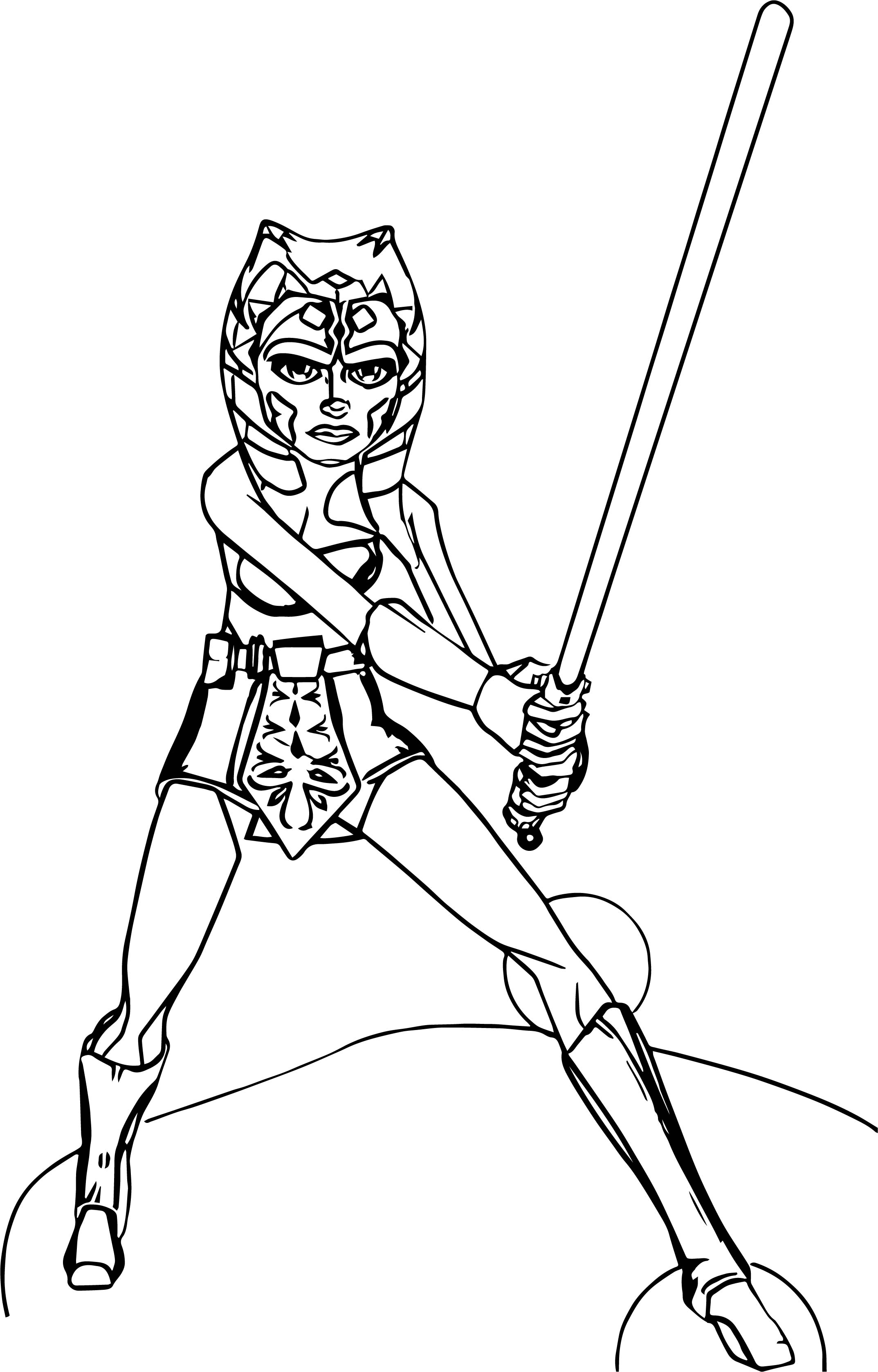 2147x3354 Ahsoka Coloring Pages Printable Coloring For Kids
