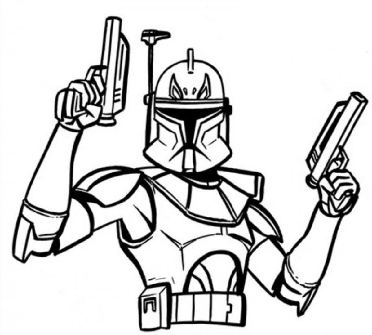 1200x1080 Star Wars The Clone Coloring Pages Death Newormtrooper Template