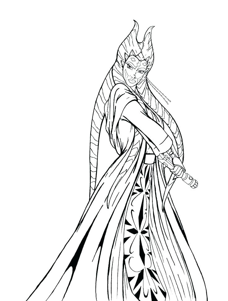 736x972 Coloring Ahsoka Tano Coloring Pages Book Star Wars The Clone