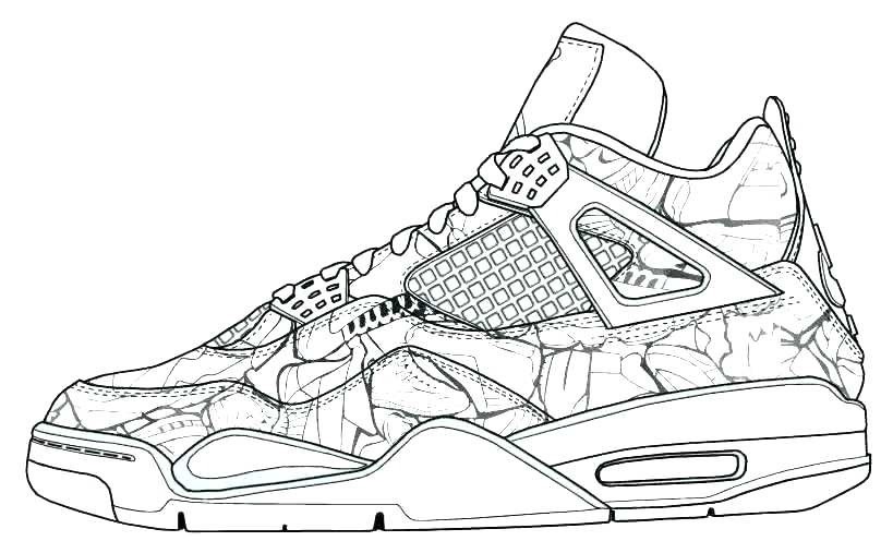 819x507 Jordan Coloring Pages Shoes Coloring Pages Shoes Air Coloring