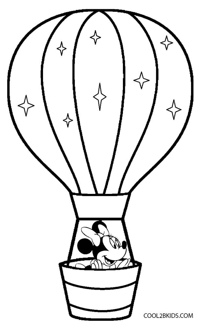 700x1137 Printable Hot Air Balloon Coloring Pages For Kids